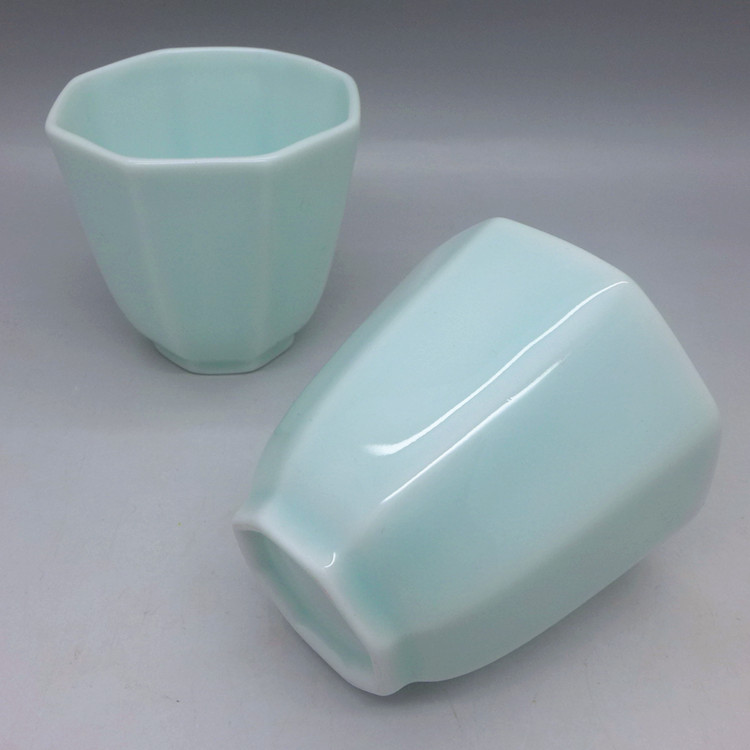 Pale blue Octagon Cup 60ml