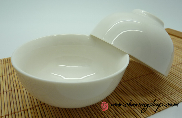White Porcelain cups (Set of two cups)