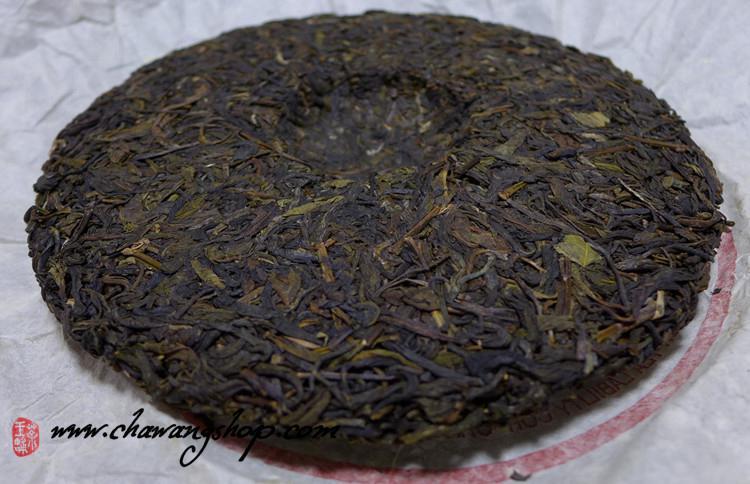 2007 Jinggu Bailong TF Raw Puerh Cake 357g