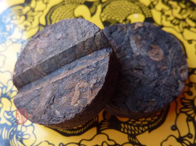 """2008 Langhe TF """"Meng Hai Wei Dao"""" Ripe Mini Cake"""