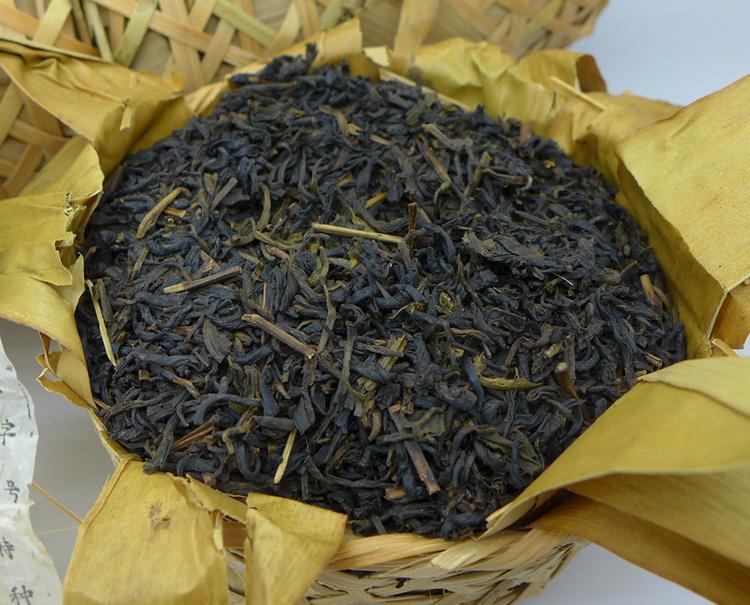 2009 Sun Yi Shun Brand Liu-an Bamboo Basket Tea 250g