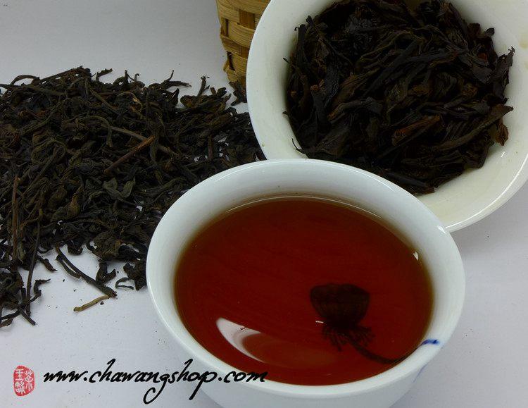 2004 Guangxi Heishi Traditional Ye Sheng Liubao Tea 50g