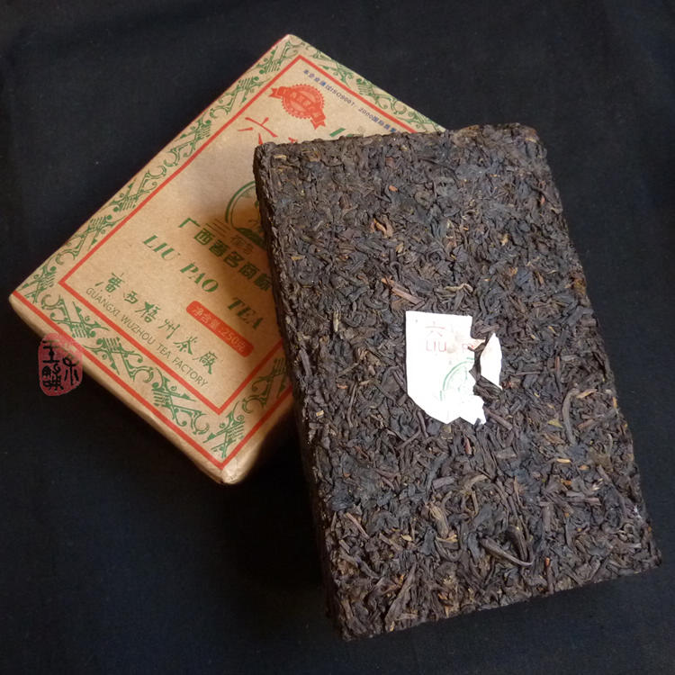 "2009 ""Three Cranes"" Brand Liubao Tea Brick"