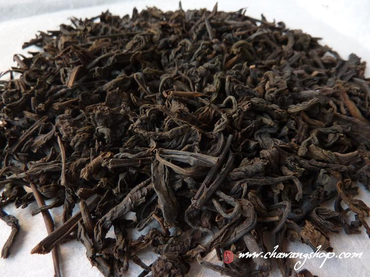 2009 Wuzhou TF Liubao 3.Grade Loose Leaves