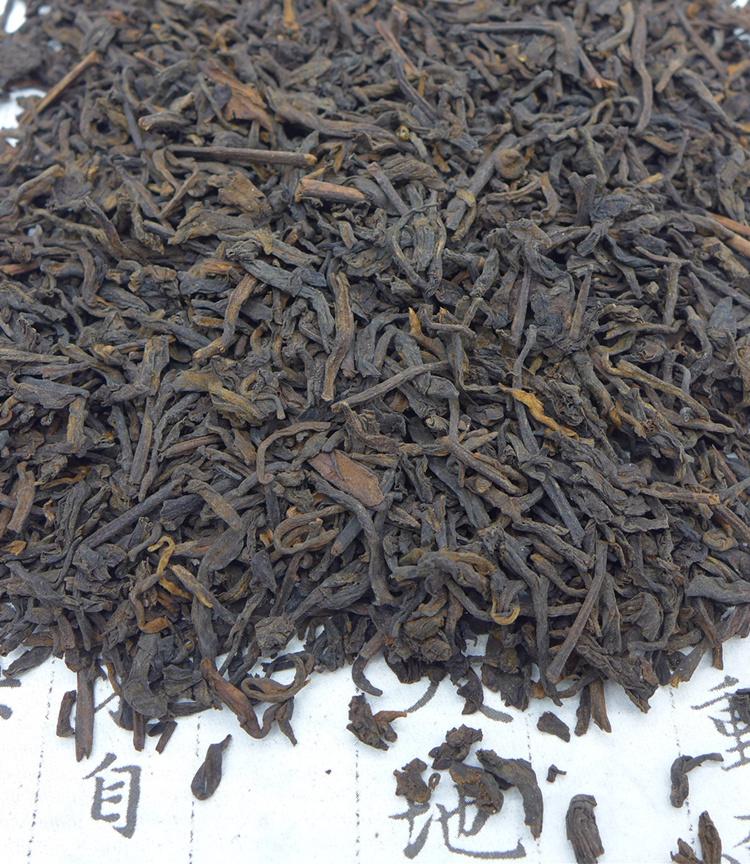 2010 (2008) CNNP Duoteli Teji Grade Liubao Tea 100g