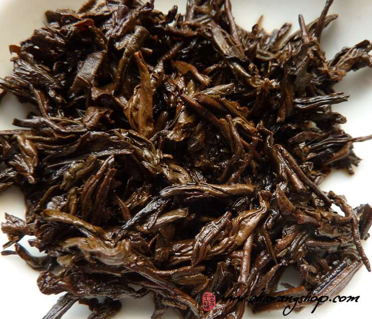 2010 Wuzhou TF Three Cranes Brand 05117 First Grade Liubao Tea 100g