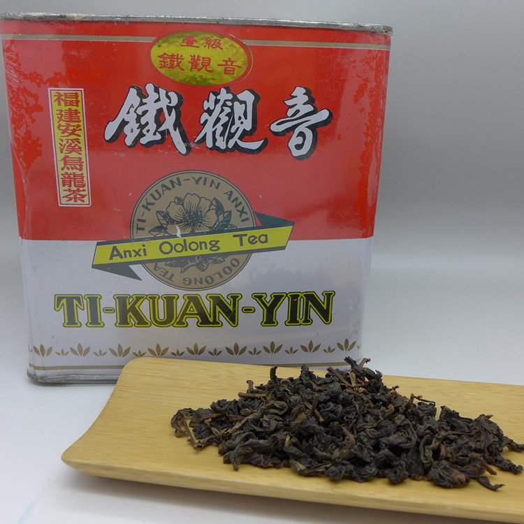 1996 Anxi Tieguanyin in iron box 25gr.sample