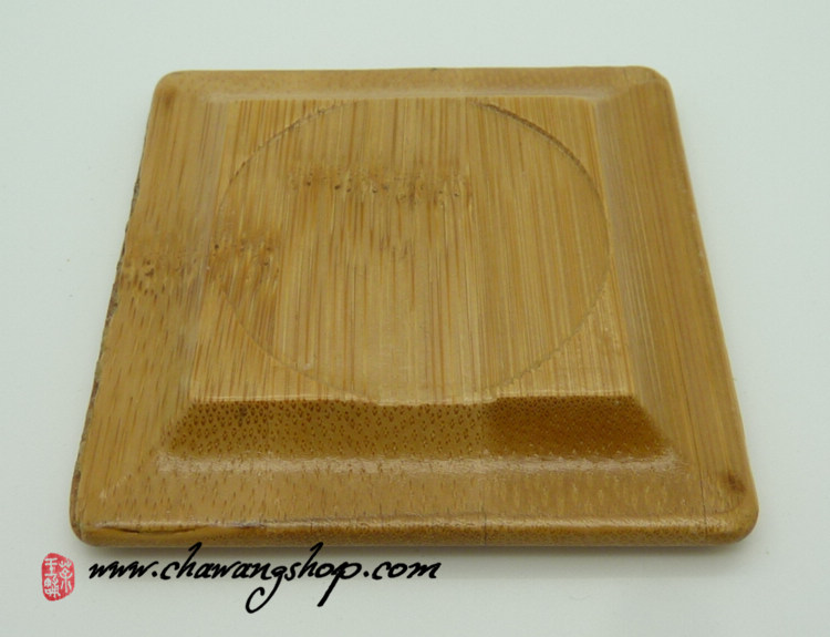Bamboo Square Saucers (Set of 5)