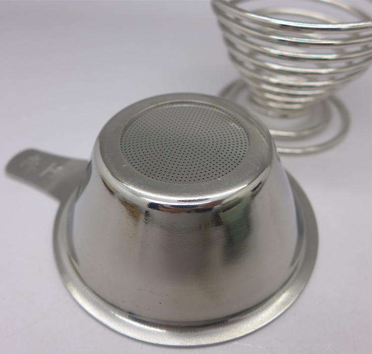 High Quality Stainless Steel Tea Strainer With Stand