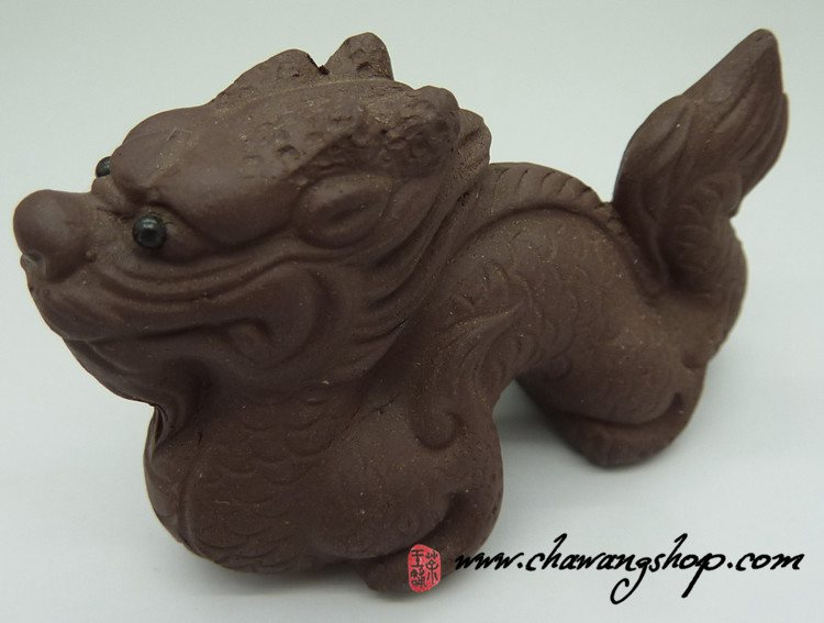 "Zisha Bronze Clay Tea Pet ""Dragon"""