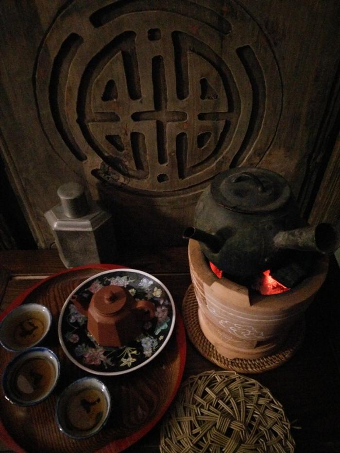 chaozhou gong fu tea set