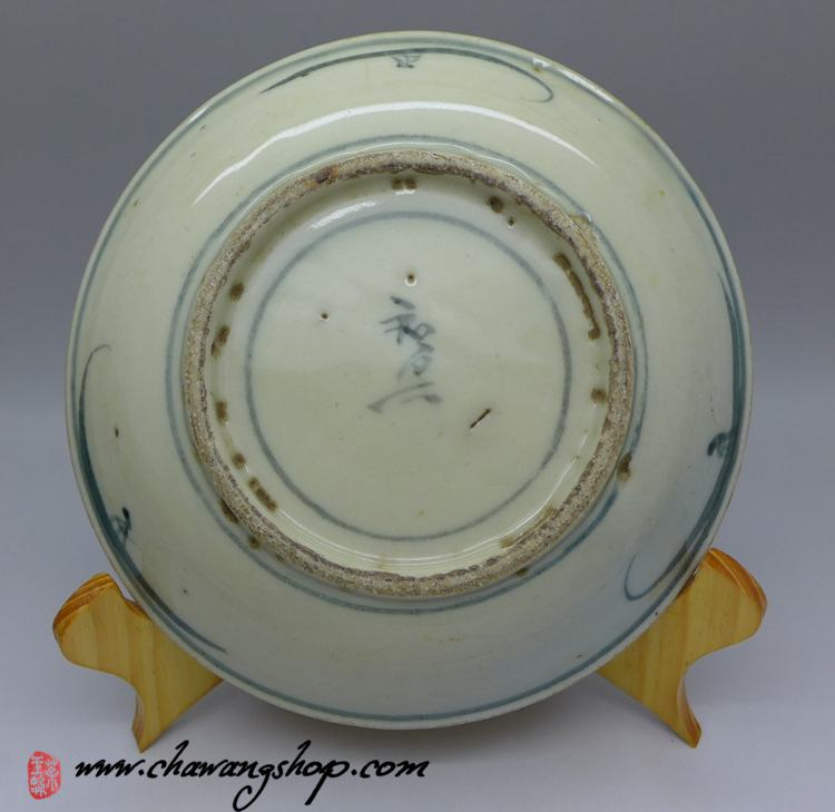 Vintage high grade Blue-and-white plate big