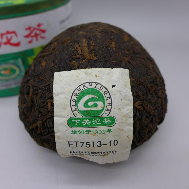 2010 Xiaguan Xiao Fa Tuo FT 7513-10 Ripe 100g