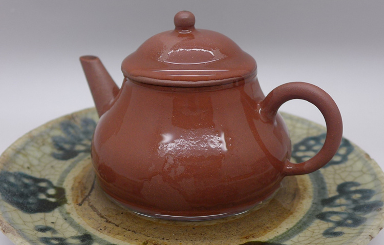 1990s Zi Ni Clay Bale Shuiping Teapot 90cc