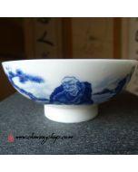 """Porcelain Tea Cup """"Old Luohan"""" 60cc"""