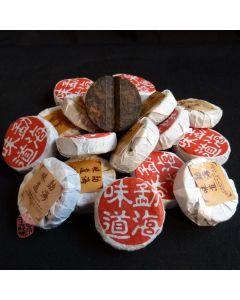 """2008 Langhe TF """"Meng Hai Wei Dao"""" Ripe Mini Cake 100g"""