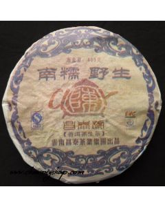 2007 Changtai Cha Hu Chen Nannuo Raw Puerh Cake 400g