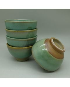 Huaning Pottery Wood Fired Old Style Cup 60ml