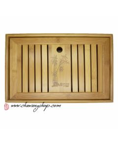 Bamboo tea tray (Holding Water) 34.7×22.6×6.5CM (M)