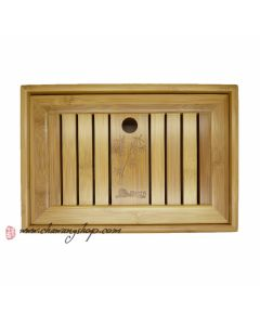 Bamboo tea tray (Holding Water) 27.3×18.5×6.3CM (S)