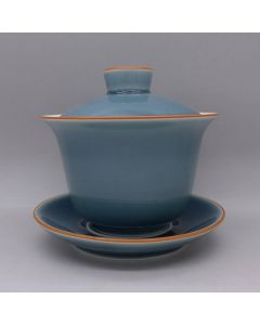 Blue Candy Porcelain Gaiwan 150cc