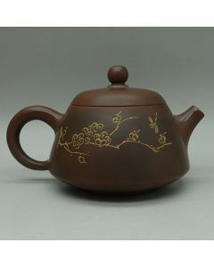 Nixing Teapot Plum and Dragonfly 100ml