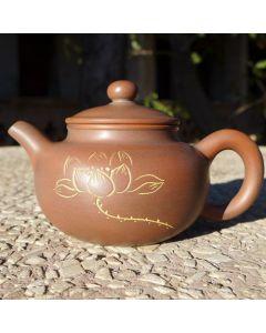 """Nixing Teapot """"Lotus and Zen"""" 100cc"""