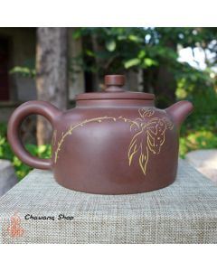 "Nixing Teapot ""Lotos & 澄怀观道"" 100cc"