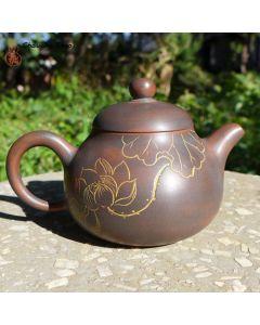 "Nixing Teapot ""Lotus & 顿悟"" 120cc"