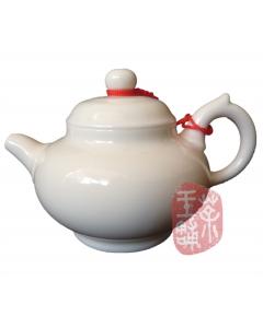 """Bone Porcelain Teapot """"Rong Tian"""" 100cc"""