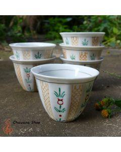 1980s Jingdezhen Vintage Tea Cup 55 ml