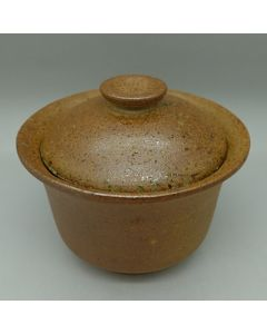 Huaning Pottery Wood Fired Unglazed Gaiwan