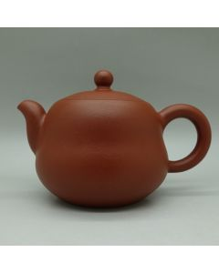 Chaozhou Handmade Red Clay Teapot H 115ml