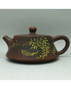 Nixing Teapot Happy Fish 165ml