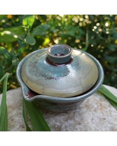 Huaning Pottery Wood Fired Gaiwan 100ml