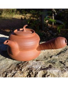 "Chaozhou Red Clay Pot ""Bottle gourd"" 400ml"