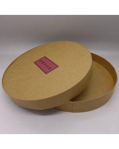 Kraft Paper Box For Puerh Cake
