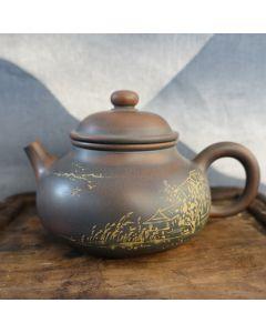 "Nixing Teapot ""Landscape painting"" 180ml"