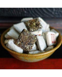 2015 Fujian Ningde Mini White Tea Brick 50g