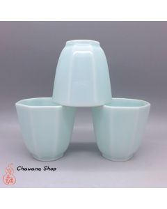 Pale blue Octagon Cup 60ml