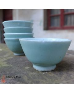 Vintage Celadon Cup 50-60ml
