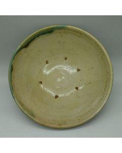 Vintage Lufeng Pottery Tea boat A