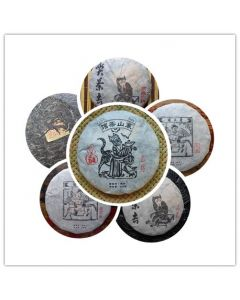 Chawangpu Puerh Tea Sample Set 120g