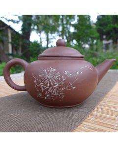 "1990s Zini Shuiping Pot 110ml ""Chrysanthemum"""