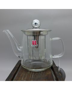 Small Glass Teapot With Filter 200ml