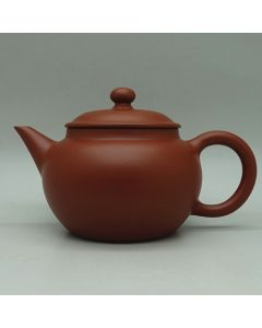 Chaozhou Handmade Red Clay Shuiping Teapot 80ml