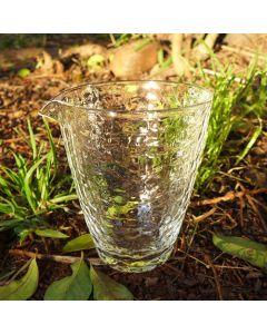 Hand-made Tall Glass Tea Pitcher 240ml
