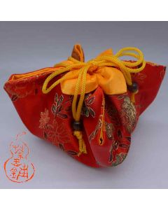 "Tea ware bag No.16 ""Red Peony"""