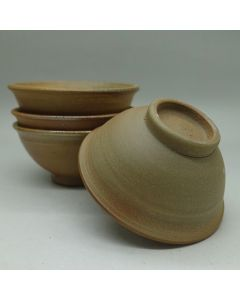 Huaning Pottery Wood Fired Unglazed Cup With Rim