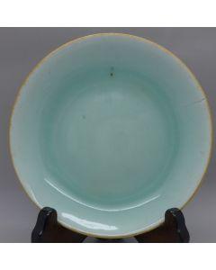 Vintage Celadone Plate A